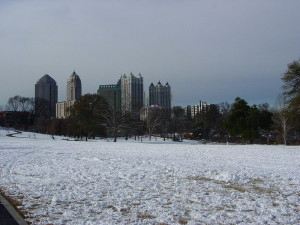 snow in atlanta