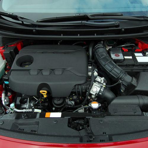 A Car Engine.