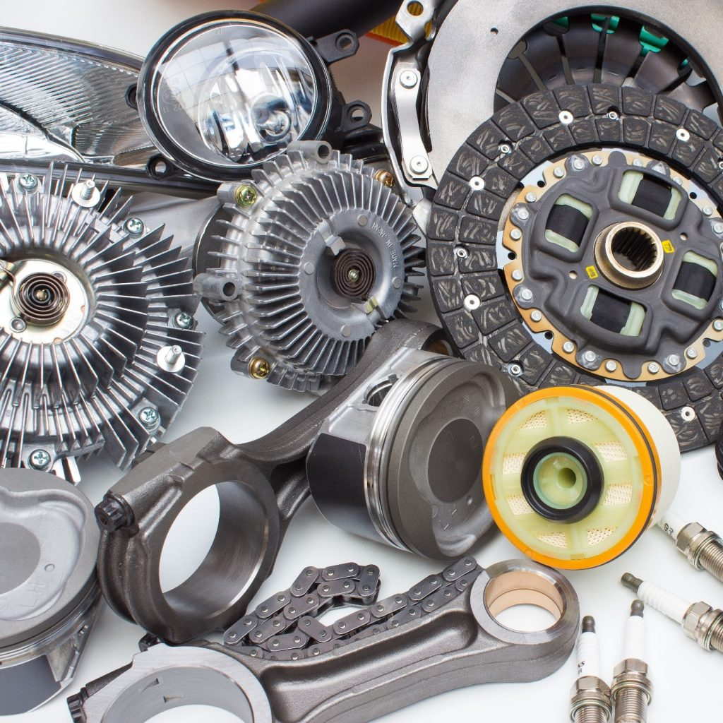 car parts and motors